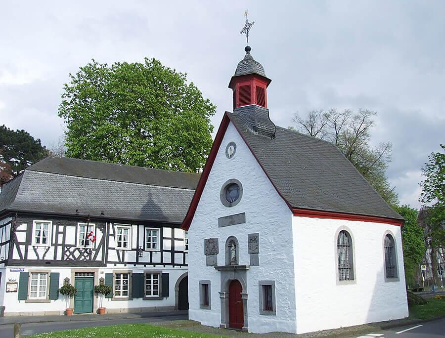 Die katholische Marienkapelle in Rhöndorf